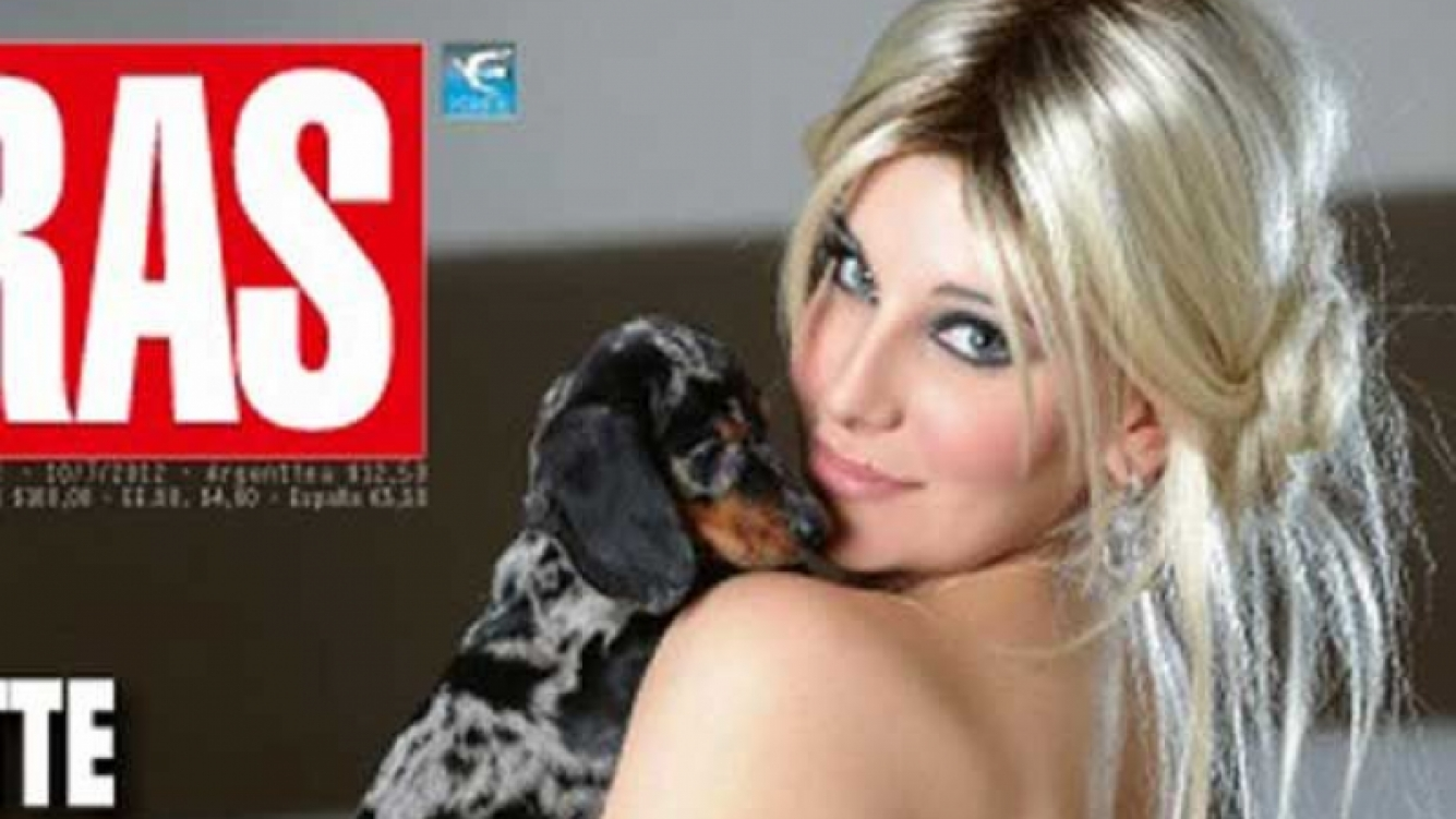 Charlotte Caniggia y una tapa muy sexy para la revista Caras