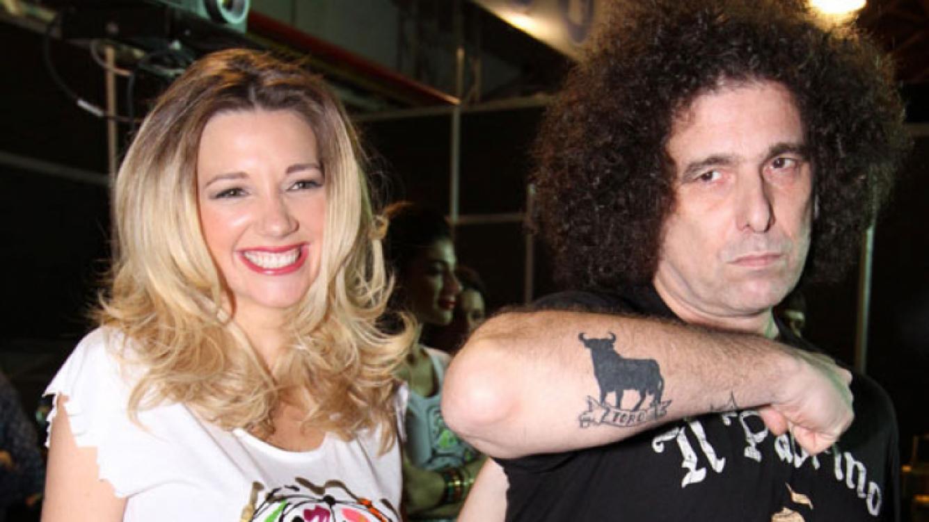 Micaela Breque salió en defensa de su novio, Andrés Calamaro (Foto: Web).