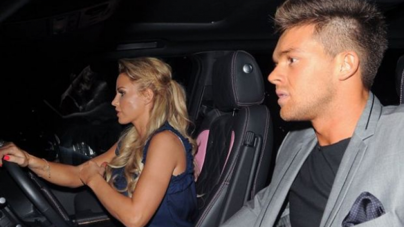 Leandro Penna y Katie Price. (Foto: Dailymail)