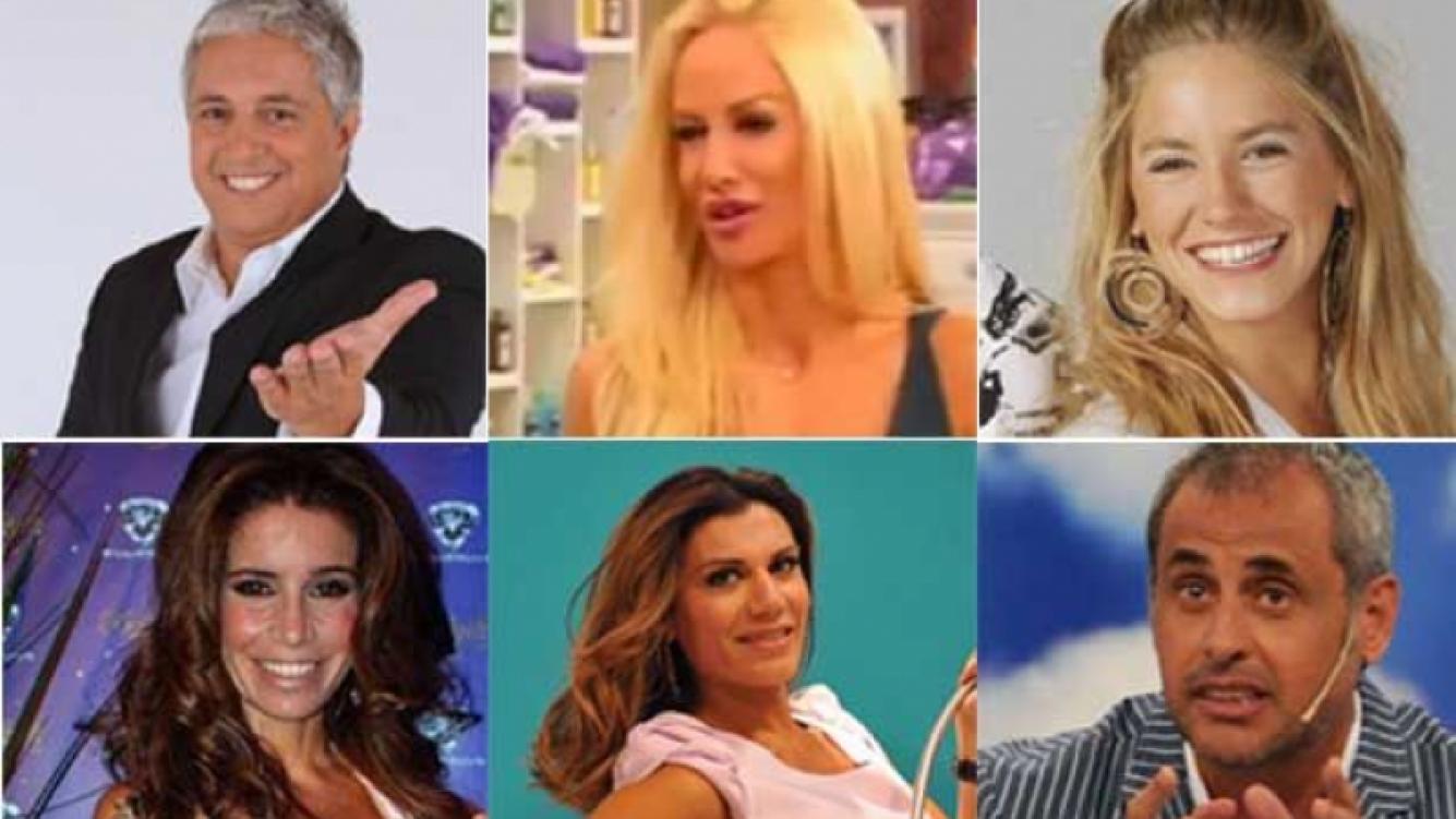Los saludos de los famosos en el Día del Amigo. (Fotos: Web)