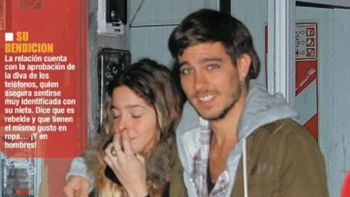 Lucía Celasco y Joaquín Rozas: 6 meses de amor (Foto: revista Paparazzi)