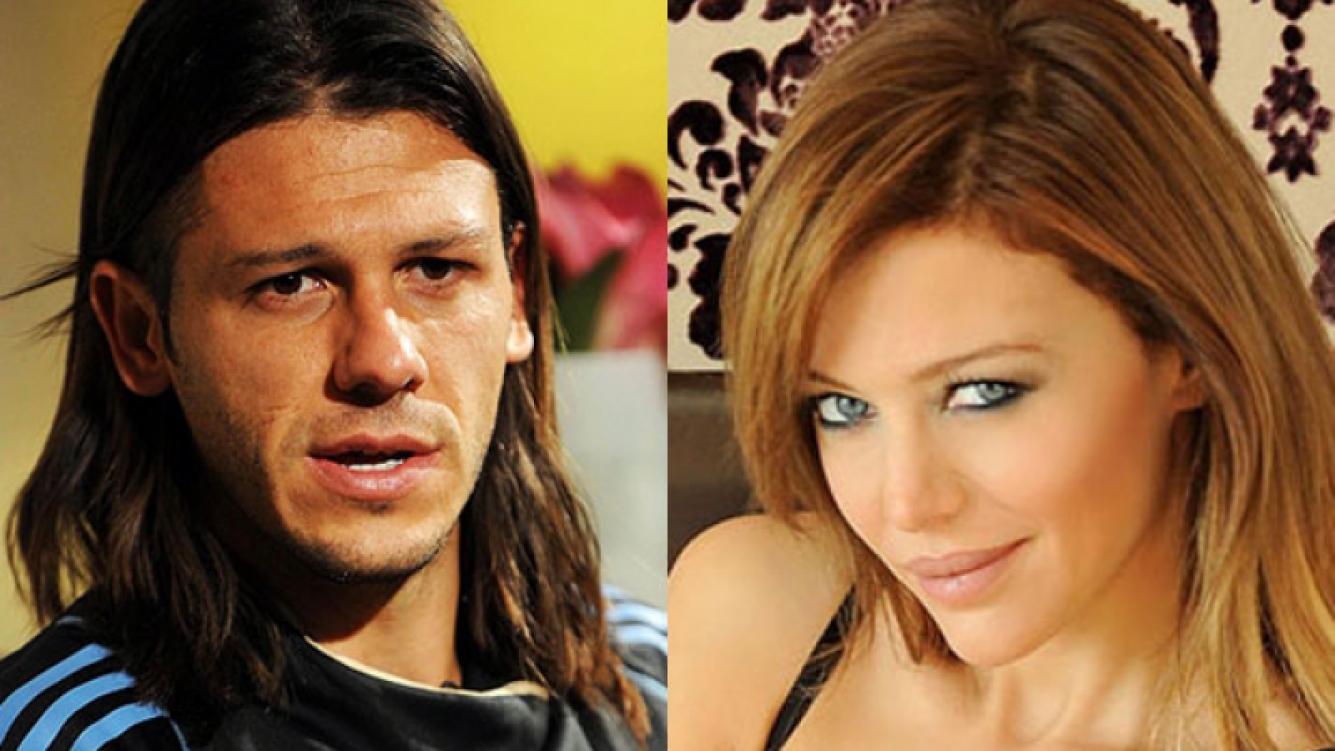 Martín Demichelis saludó a Evangelina Anderson por su cumple (Fotos: Web y Ciudad.com).