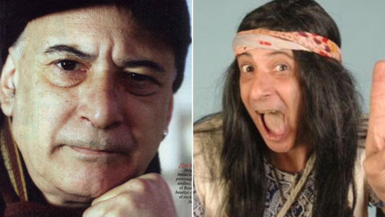 Izquierda: Jorge Montejo hoy. Derecha: caracterizado de Paolo, el rockero, en los años ochenta. (Fotos: revista Pronto y Web)