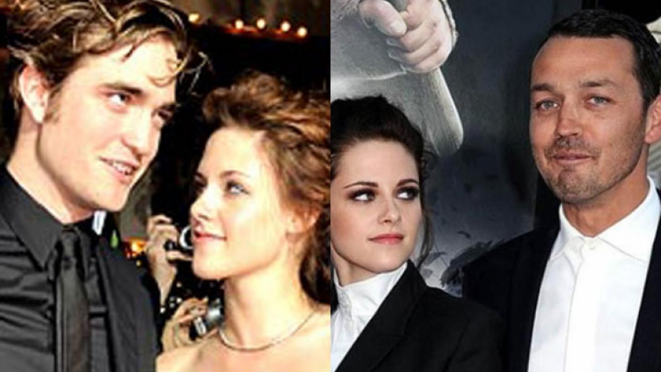 Kristen y Rob en un evento público vs. Kristen y su amante, en el estreno de Blancanieves (Fotos: Web).