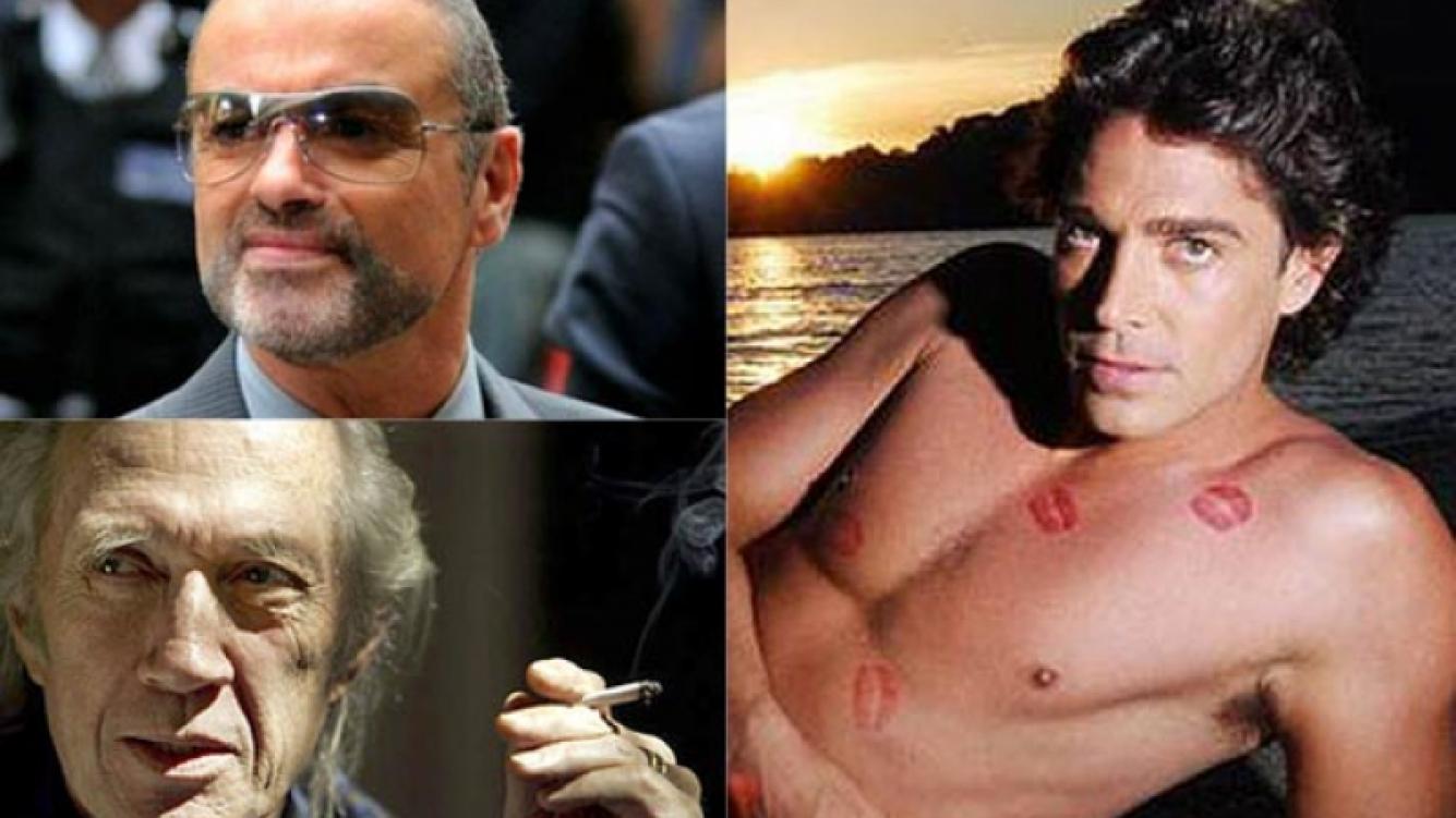 George Michael, David Carradine... y Matías Alé: famosos adictos al sexo. (Foto: Web)