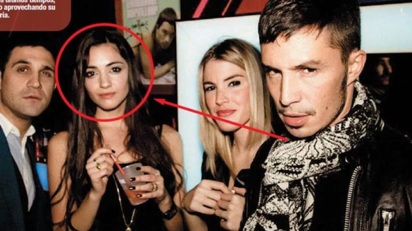 Emmanuel Horvilleur y su ¿novia? Geraldine Guillermo. (Foto: revista Paparazzi)