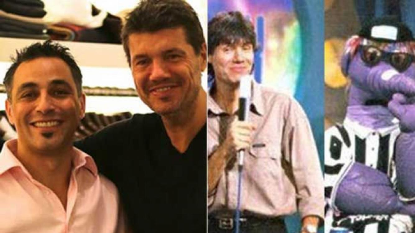 Marcelo Tinelli y Javier Adarvez. (Fotos: Web)