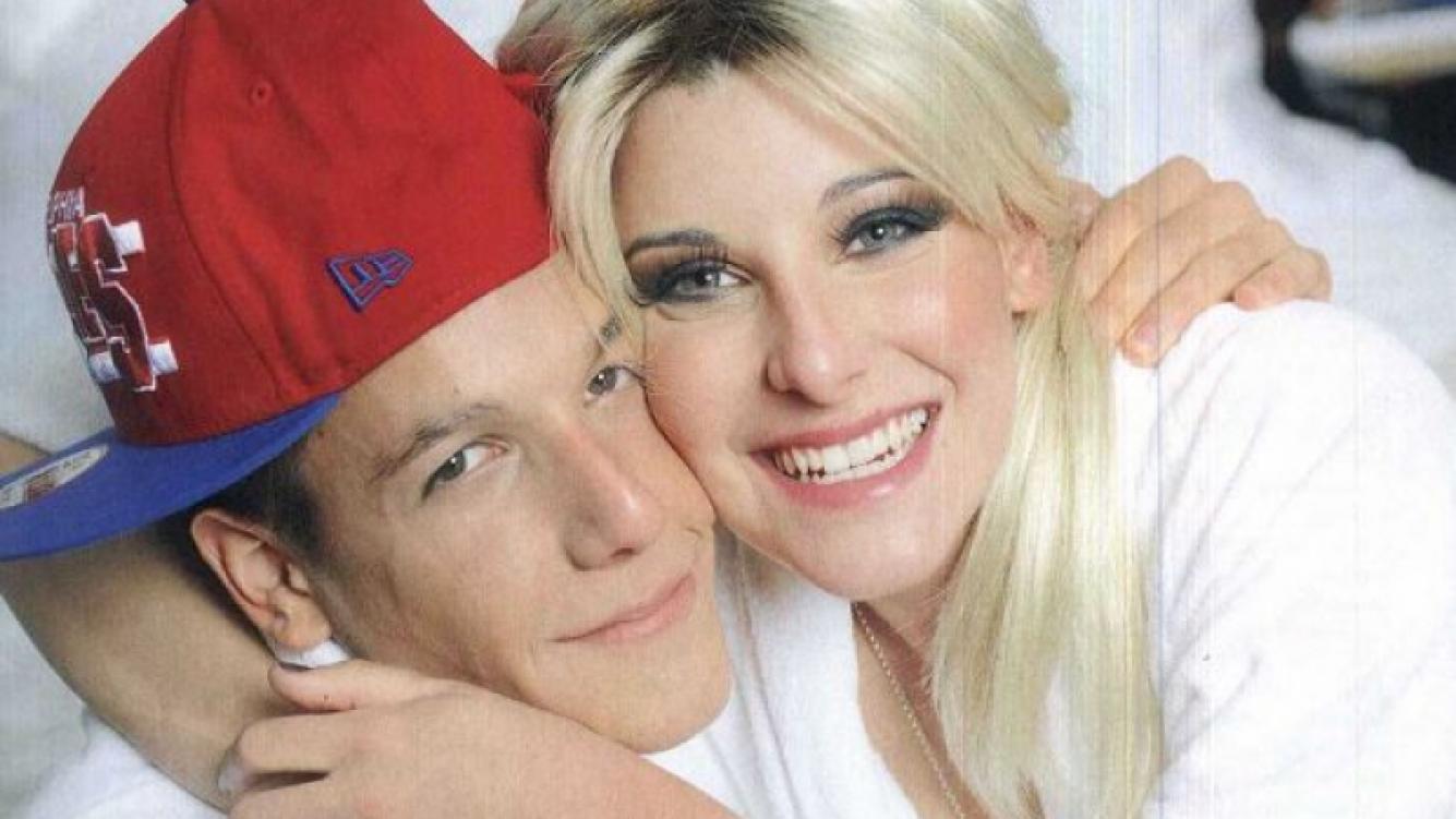 La intimidad de Charlotte y Alexander Caniggia. (Foto: Revista Caras)