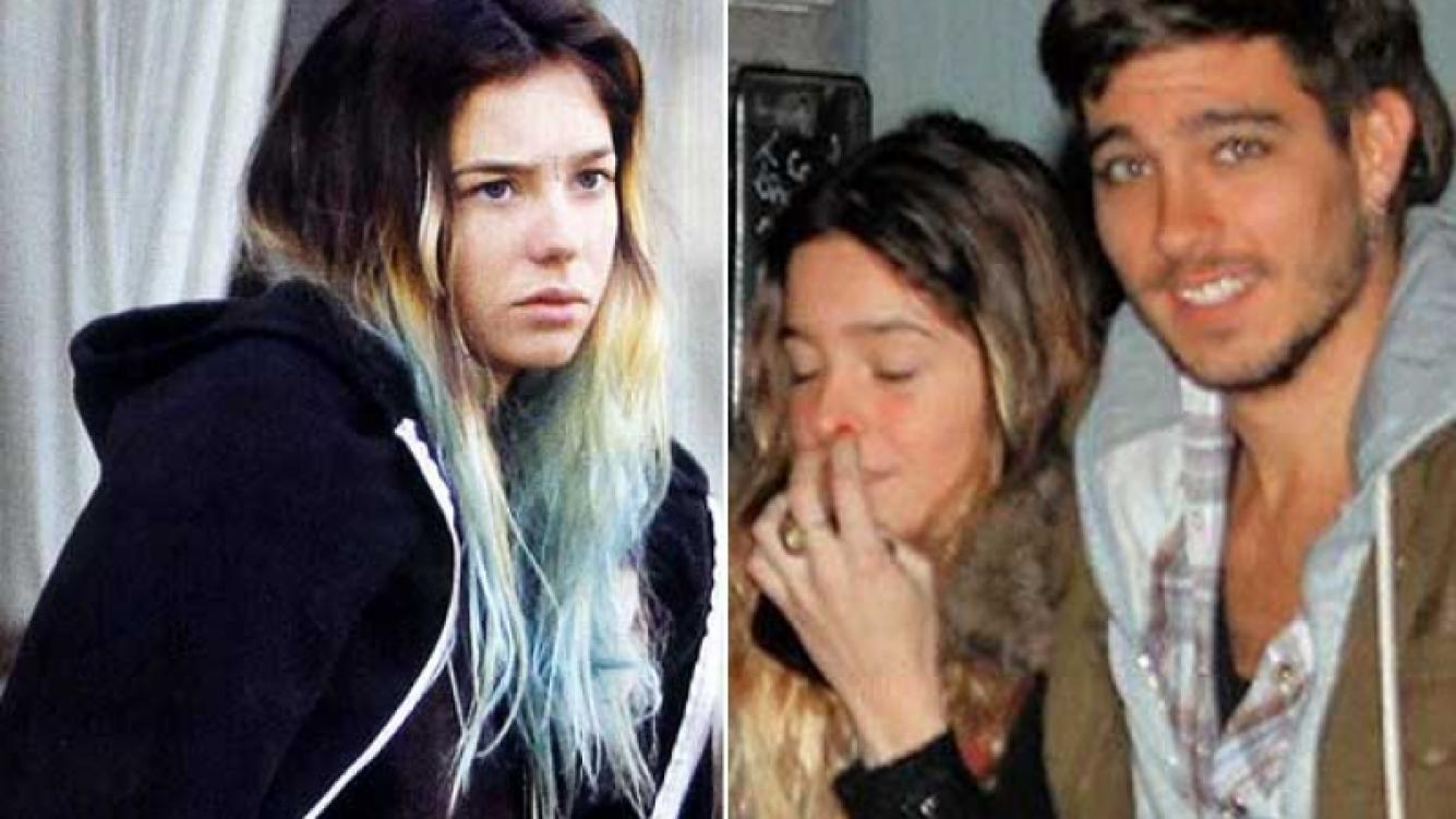 Lucía Celasco y su novio, Joaquín Rozas. (Fotos: Movilpress, revista ¡Hola! Argentina y Web)