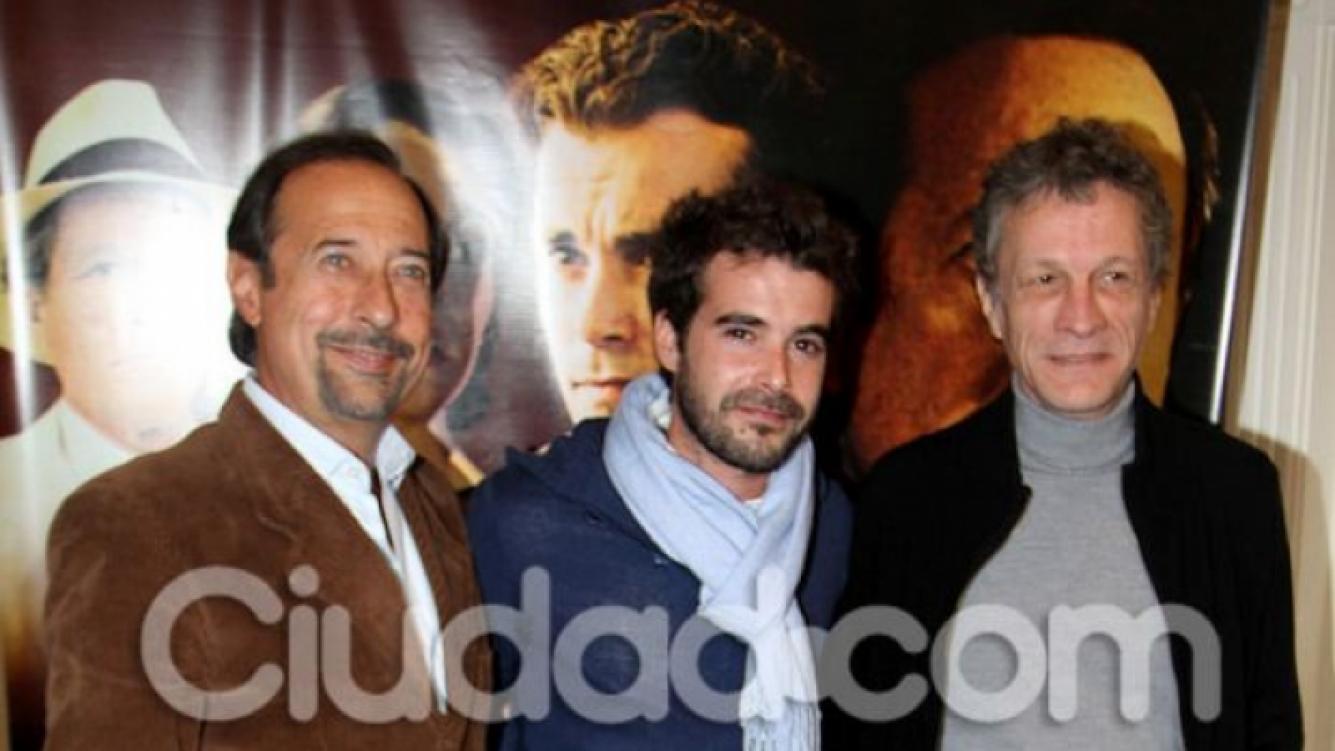 Francella, Nico Cabré y Daniel Fanego, protagonistas de Atraco (Foto: Jennifer Rubio).