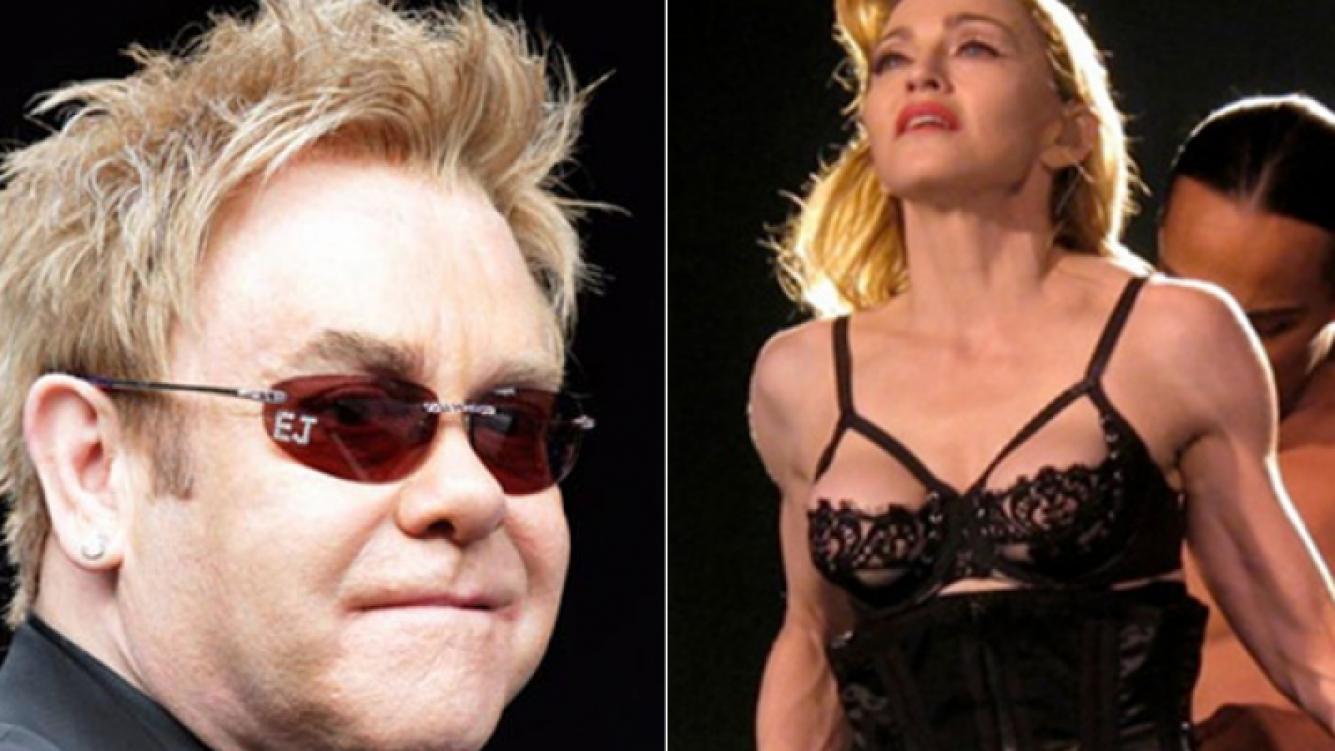 Elton John criticó sin filtros a Madonna. (Foto: Web)
