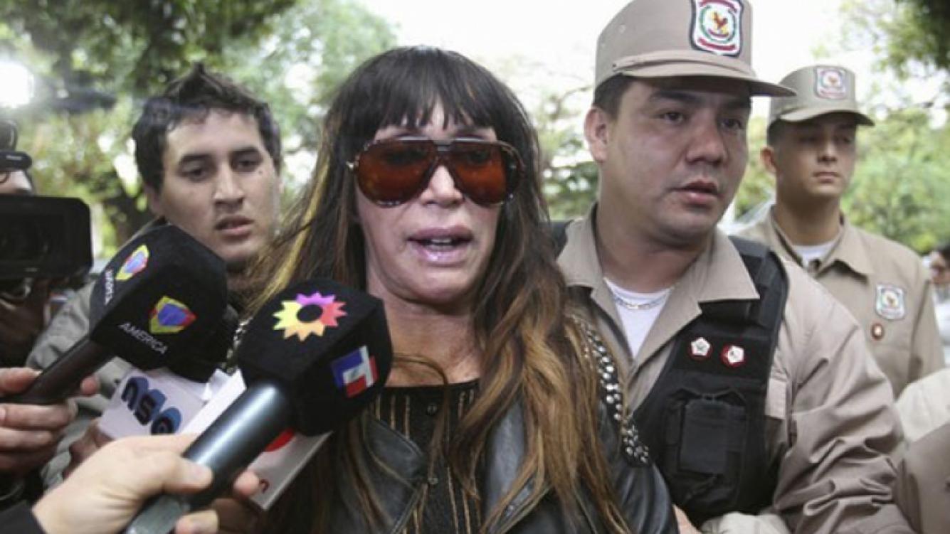 La aparición de un video podría comprometer a Moria Casán (Foto: Web).