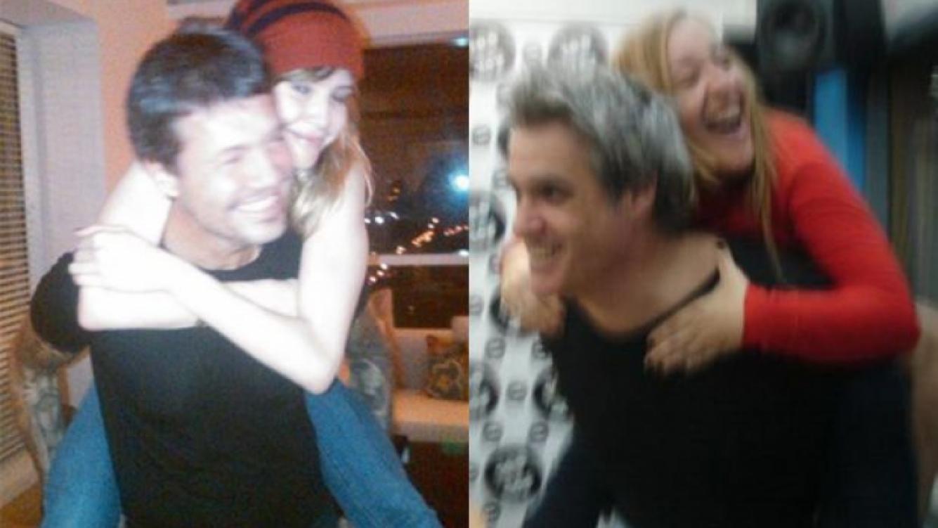 Roberto Pettinato bromeó con la foto Marcelo Tinelli y Guillermina Valdés. (Foto: Twitter)