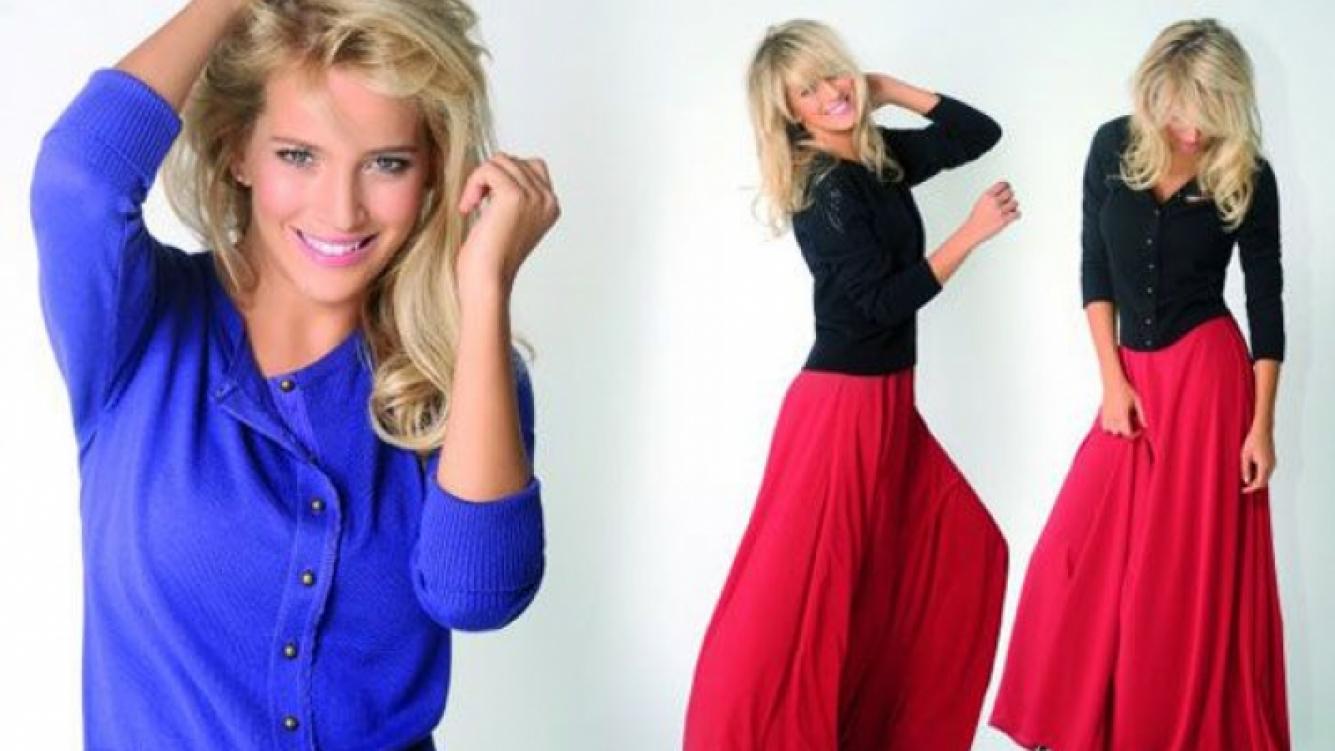 Luisana Lopilato, la modelo de su propia campaña de ropa (Foto: Facebook).