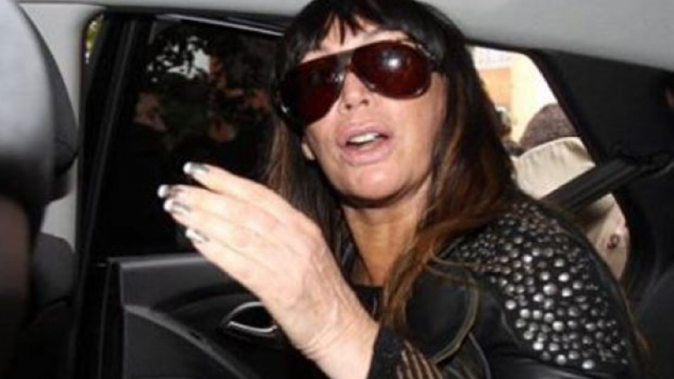 Moria Casán, involucrada en el escandaloso caso del robo de las joyas (Foto: Web).