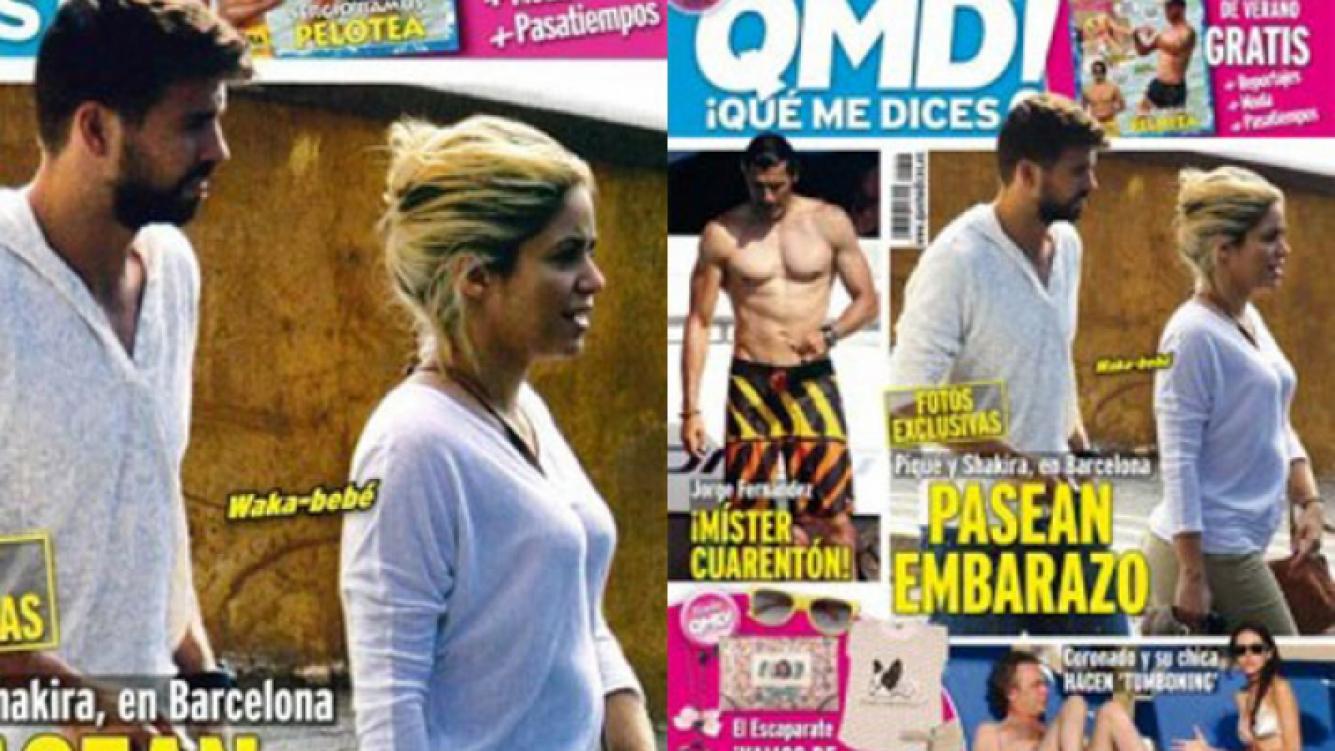 La tapa de la revista ¡Qué me dices! que recorre el mundo (Foto: Web).