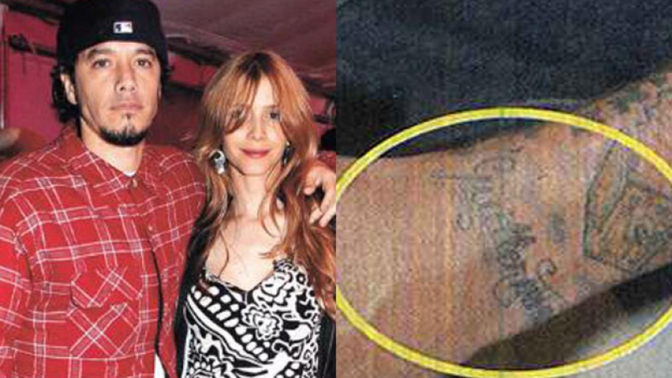 Tras saber del romance de Guillermina y Tinelli, Ortega se borró el tattoo con su nombre (Foto: Caras).