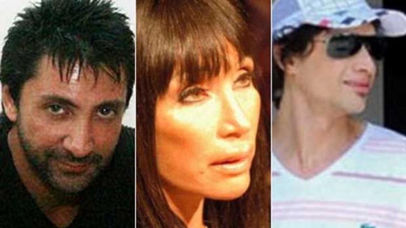 El joyagate: Luciano Garbellano, Moria Casán y Galo Soto. (Fotos: Web)