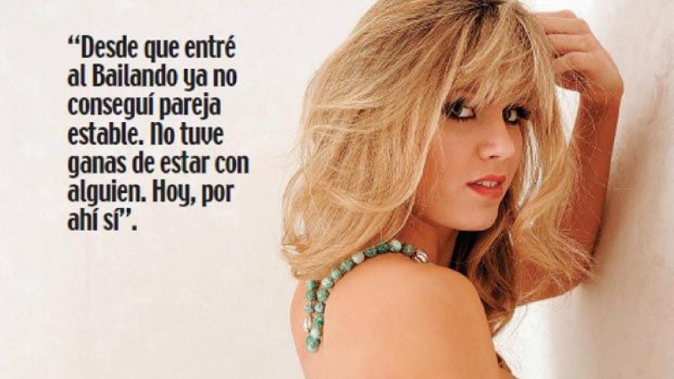Laurita Fernández. (Foto: revista Paparazzi)
