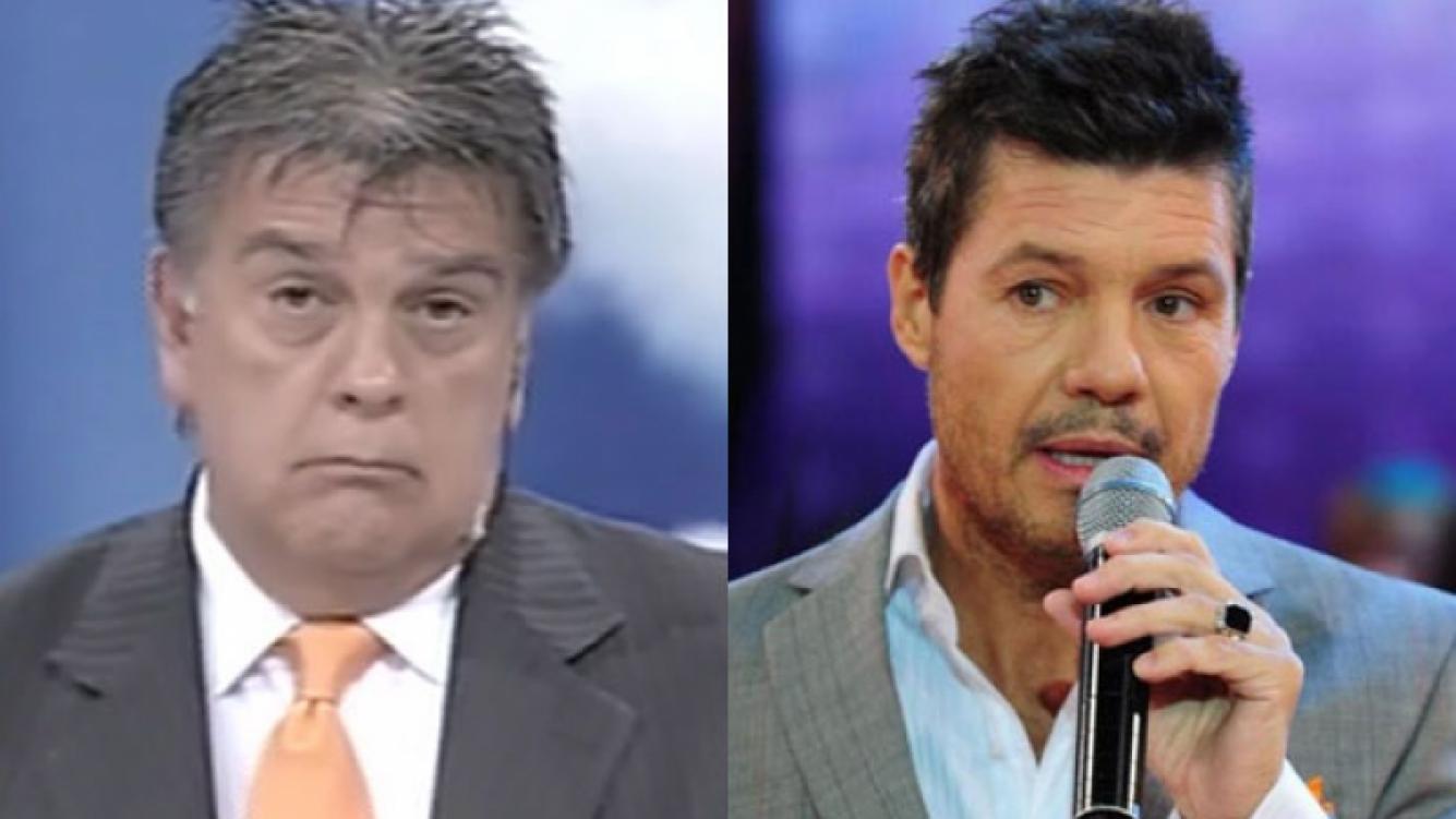 Luis Ventura, moleste con Marcelo Tinelli (Foto: Web).