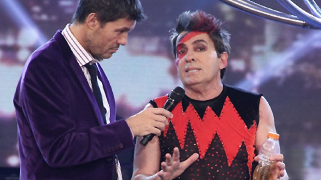 Betp César sufrió una fuerte caída en ShowMatch. (Foto: Web)