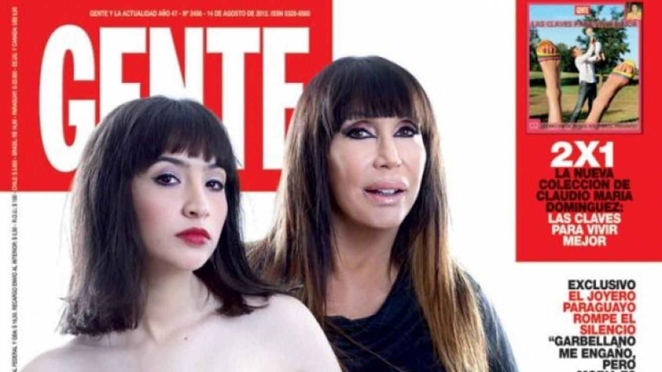 Moria y Sofía, en la tapa de Gente de esta semana.
