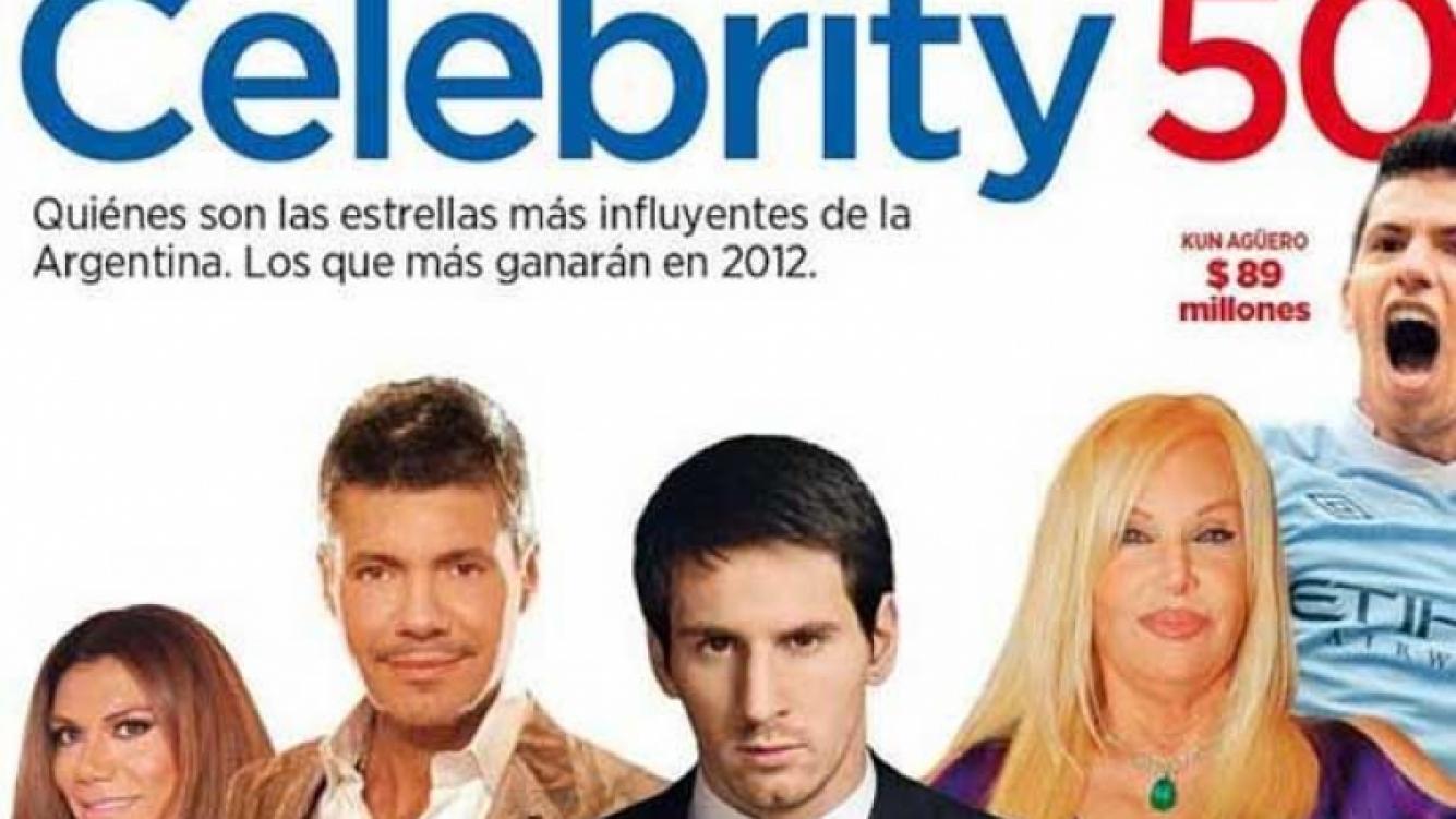 ¿Quiénes son las celebrities más influyentes de la Argentina? (Foto: Revista Forbes)