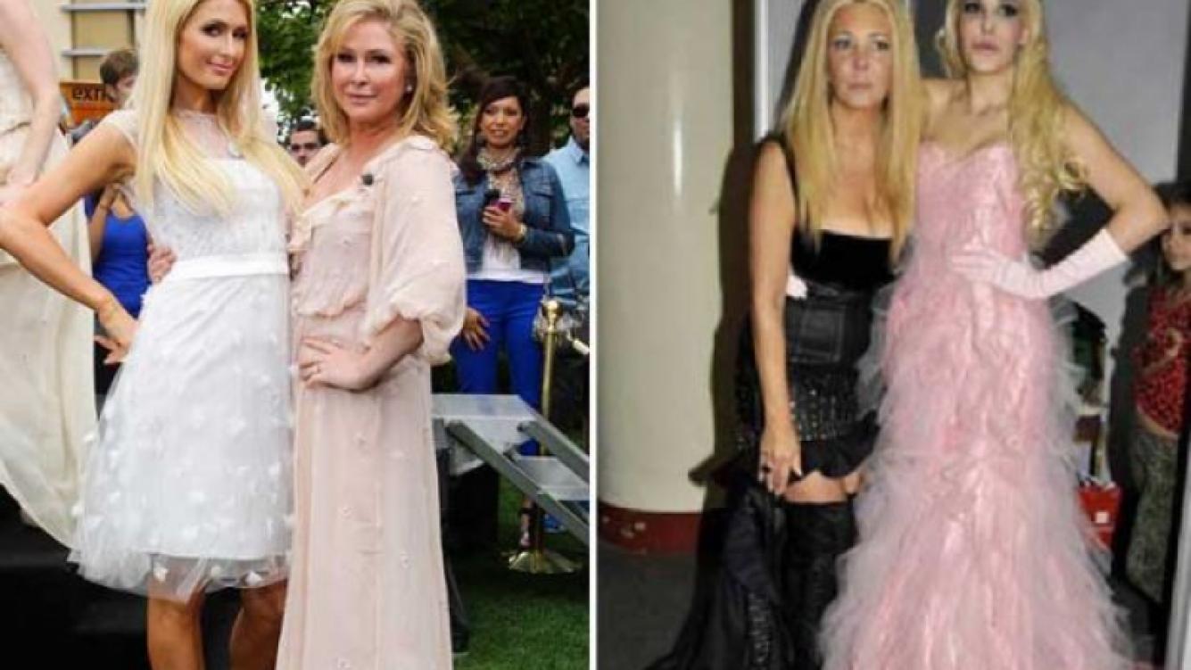 Las diferencias y similitudes entre Paris Hilton y Charlotte Caniggia. (Foto: Web)