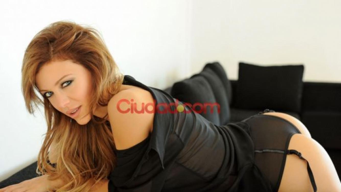 Evangelina Anderson, triste por la partida de su hijo a España (Foto: Ciudad.com).