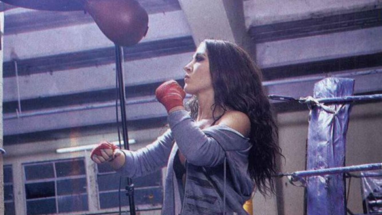 El destape hot de Jimena Barón en el ring. (Foto: Gente)