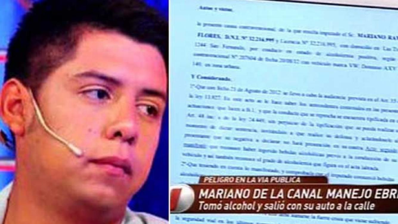 Mariano de la Canal hizo un mea culpa y pidió perdón a Jorge Rial y Angel de Brito. (Foto: web / captura de TV)