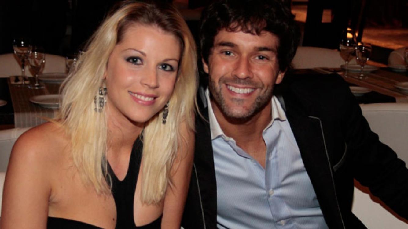 Mariano Martínez y Juliana Giambroni, en la dulce espera (Foto: Web).