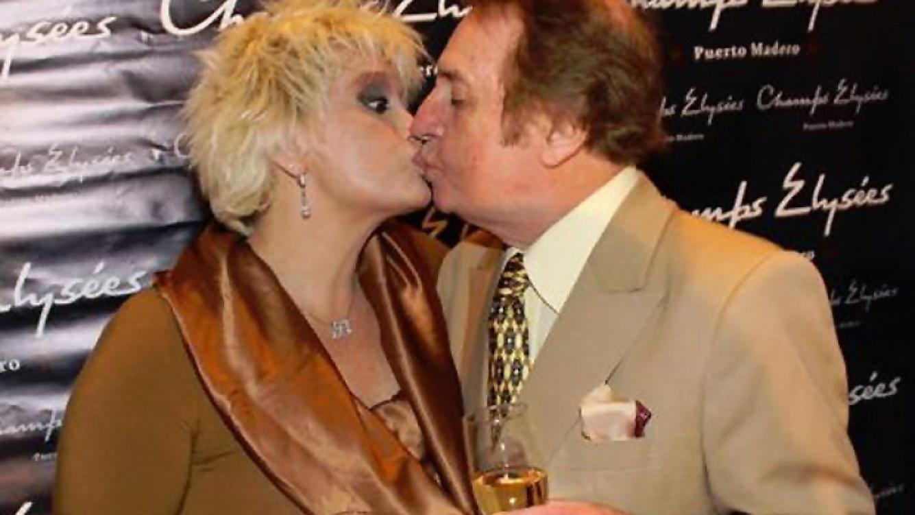 Carmen Barbieri y Santiago Bal, en otros tiempos. (Foto: Web)