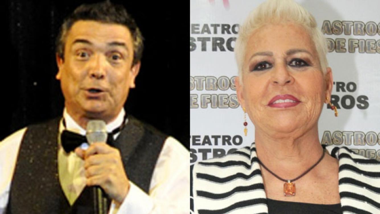 Nito Artaza y una broma que no le cayó bien a María Martha Serra Lima (Foto: Jennifer Rubio).