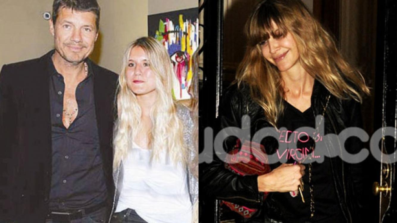 Tinelli y Guillermina compartieron el cumple de Micaela (Fotos: Web y archivo Ciudad.com).