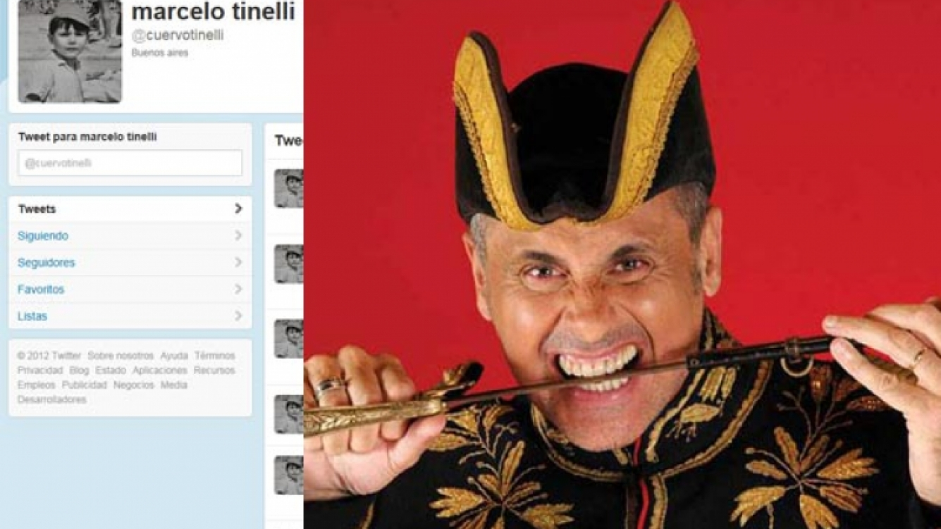 Jorge Rial le dio la bienvenida a Marcelo Tinelli a Twitter. (Fotos: Web)