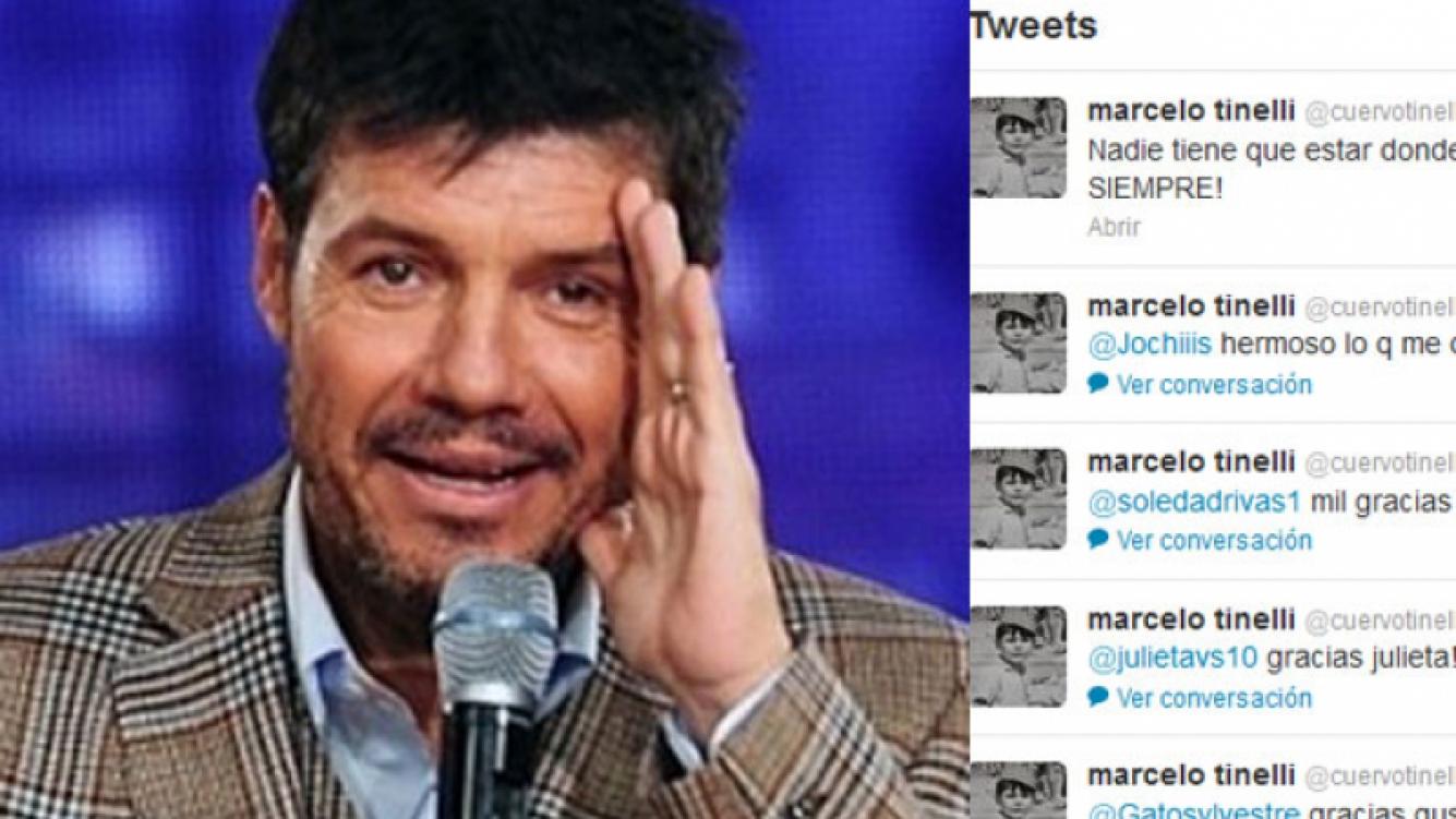 Marcelo Tinelli sigue dando de qué hablar en Twitter (Foto: Web).