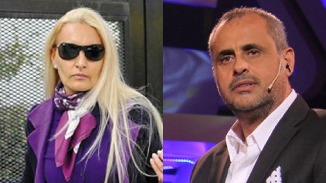 Jorge Rial y su ex mujer volvieron a cruzarse en Twitter.