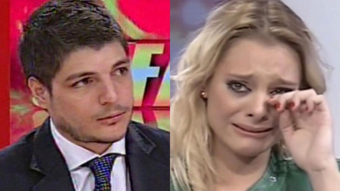 Tomás Constantini y Jimena Campisi, enfrentadísimos (Fotos: Capturas).
