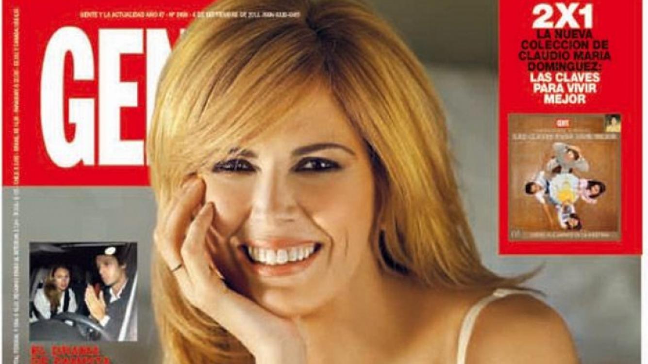Viviana Canosa, en la tapa de la revista Gente.