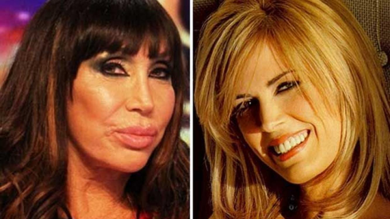 """Los irónicos """"palitos"""" de Moria Casán a Viviana Canosa en Twitter. (Foto: Web)"""