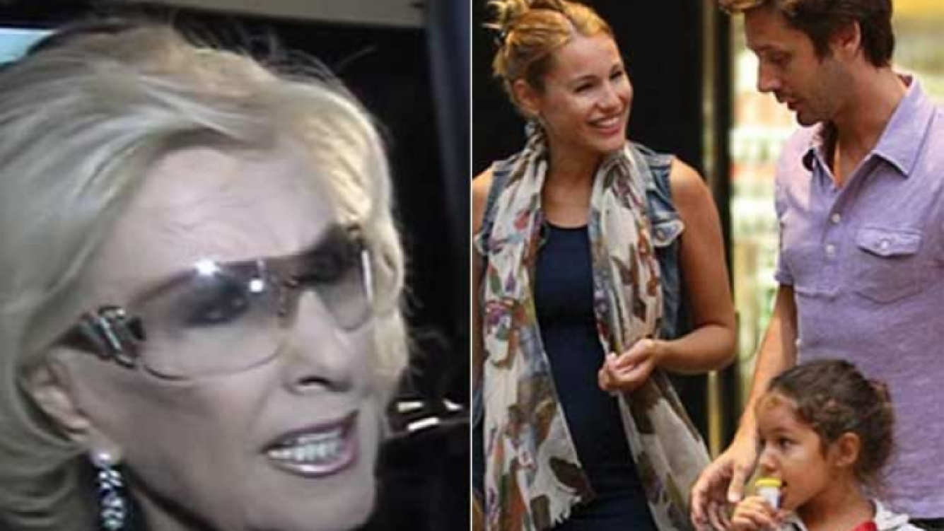 Mirtha Legrand habló sobre la salud de Blanca Vicuña. (Fotos: Captura TV y Web)