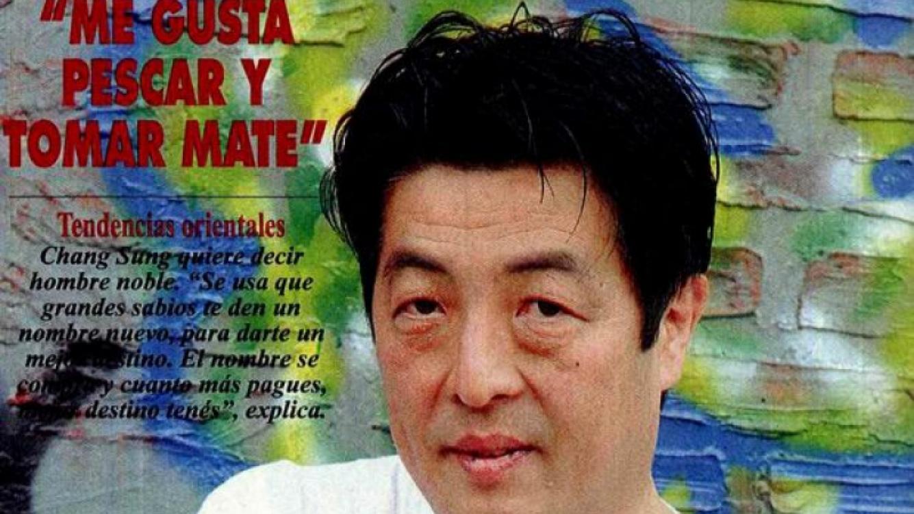 Chang Sung Kim, el asistente de Clemente en Graduados. (Foto: Revista Pronto)