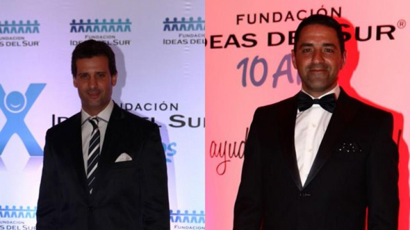 José María Listorti y Mariano Iúdica. (Foto: Prensa Ideas del Sur)
