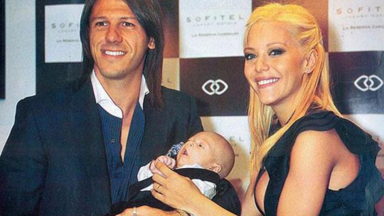 Martín Demichelis está en la Argentina junto a Evangelina Anderson y su hijo Bastian. (Foto: archivo Web)