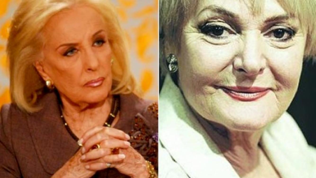 Mirtha Legrand y Claudia Lapacó: la actriz Vs. la diva.