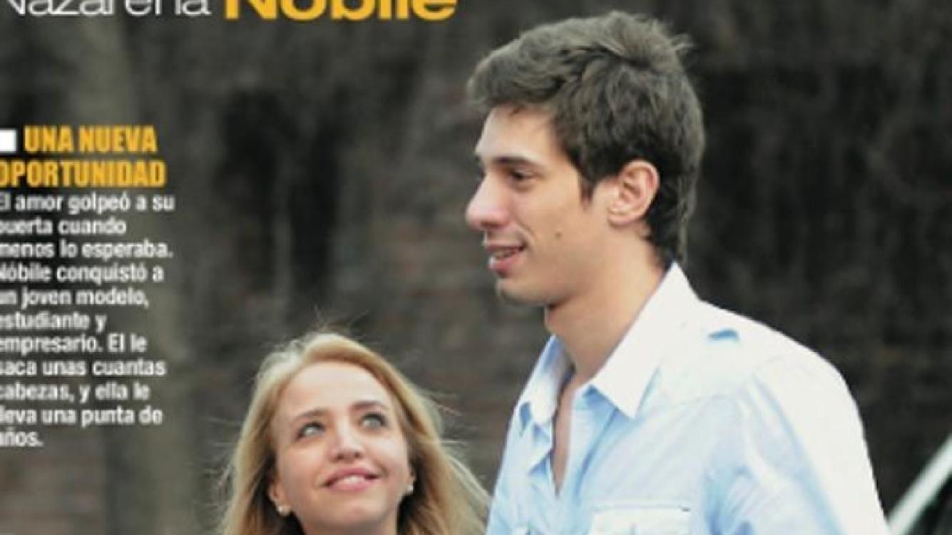 Nazarena Nóbile, la penalista de Intrusos, enamorada de un joven modelo. (Foto: Revista Paparazzi)