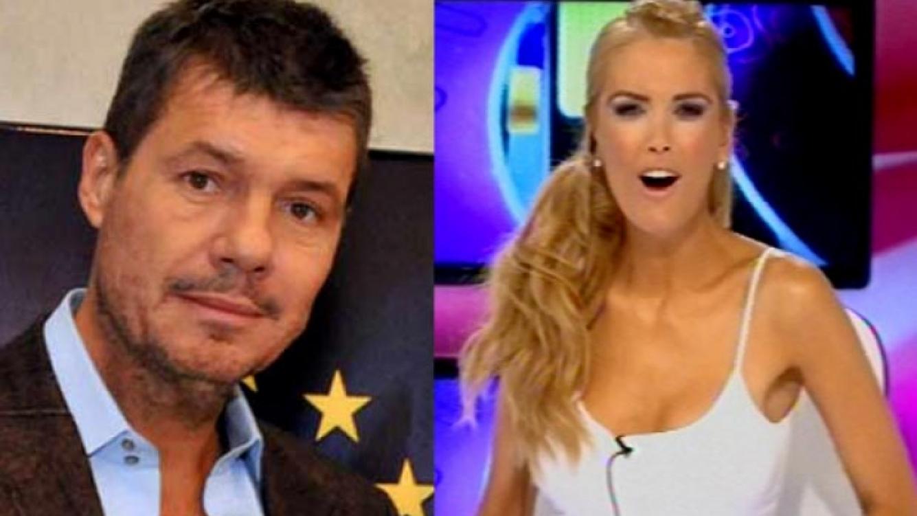 "Marcelo Tinelli y ""palito indirecto"" a Viviana Canosa. (Foto: Web)"