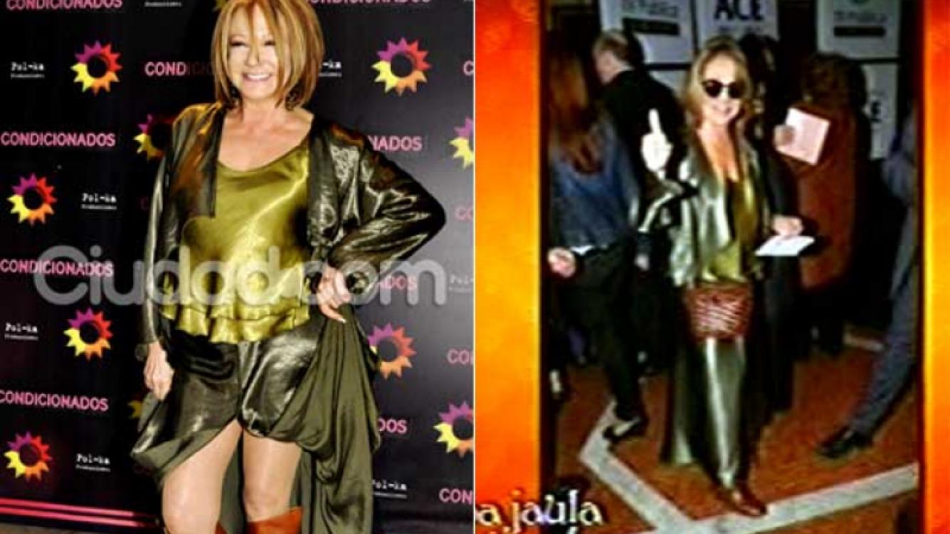 Soledad Silveyra en mayo y en la actualidad. (Fotos: Jennifer Rubio y Captura TV)