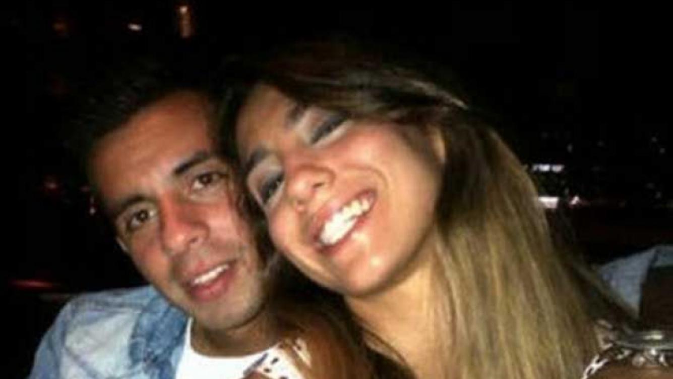 Cinthia Fernández y Matías Defederico, juntos. (Foto: Twitter Cinthia Fernández)